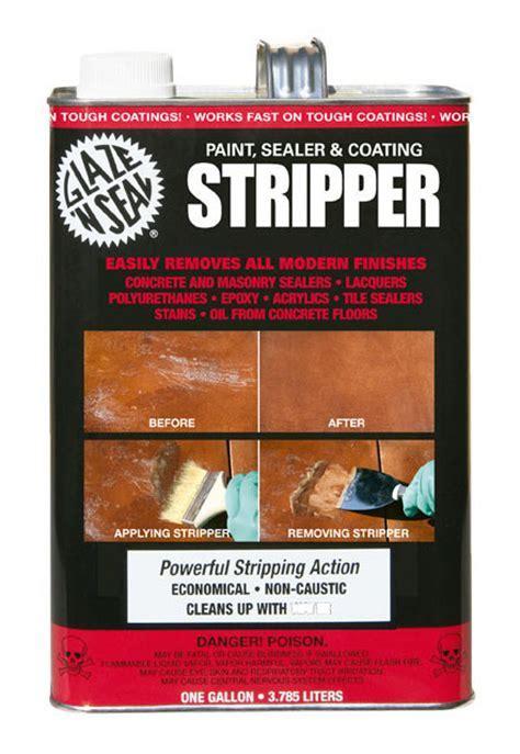Paint Sealer & Coating Stripper   Glaze 'N Seal Products