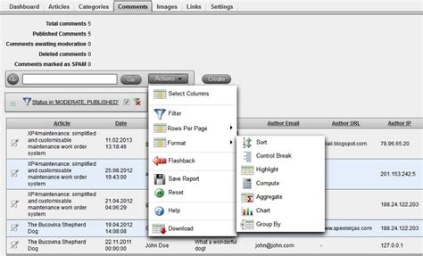 oracle apex geekery declarative reflow table reports in tsm rapid application development for the web with
