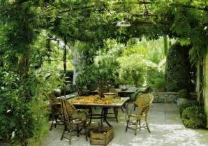 Landscaping With Pergolas by An Italian Patio For An Italian Themed Garden Ideas For