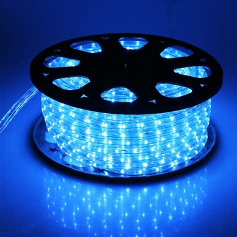 Best Outdoor Led Rope Lights Outt 174 150 Led Rope Light Light Indoor And Outdoor Patio Light Blue 5ive