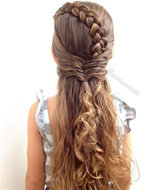 kids fishtail photo with hair added 1604 best hairstyles for children images on pinterest
