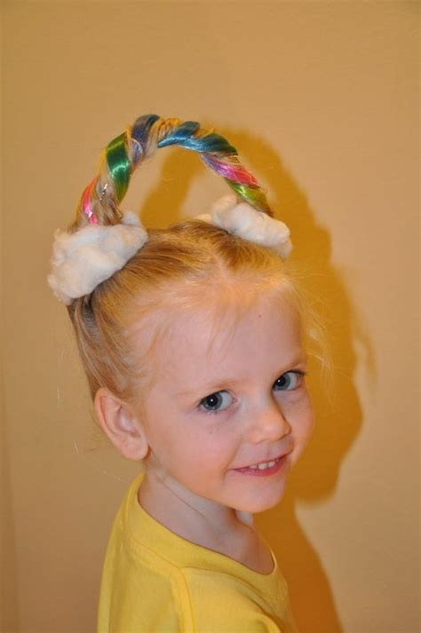 crazy hairstyles at home crazy hair day at school for girls and boys stay at home