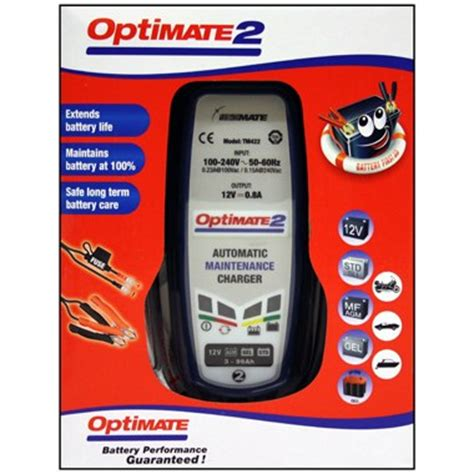 Charger 99 Sani 2 A Branded optimate 2 motorcycle battery charger