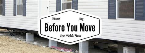 9 necessary things to do before you move into your new prepare a new mobile home site mobilehomesell com faq series