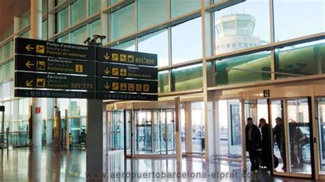 barcelona airport terminal  services