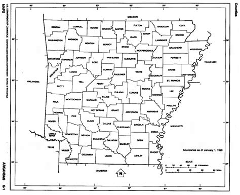 arkansas county map arkansas state map with counties outline and location of
