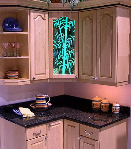 kitchen cabinet art kitchen kitchen cabinet combine art glass with your fine