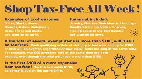shop maryland tax free week 2017 ship saves