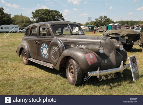 a buick 8 saloon staff car 1938 on display at the 2011