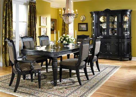 black formal dining room sets amazing black formal dining room set 43 on diy tables