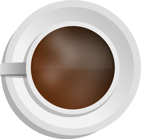 top of coffee cup mokush realistic coffee cup top view clip art at clker com