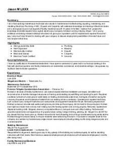 Line Service Technician Sle Resume by Line Service Technician Resume Exle Atlantic Aviation San Jose California