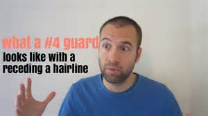 4 guard haircut what a 4 guard buzz cut looks like with a receding