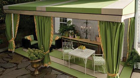 awning patio drapes