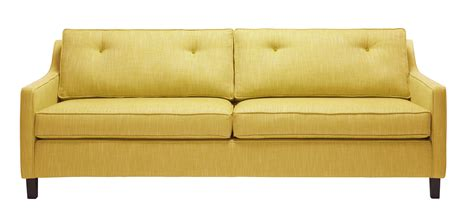 yellow tufted sofa yellow sofas 28 images 1960s 70s bright yellow button