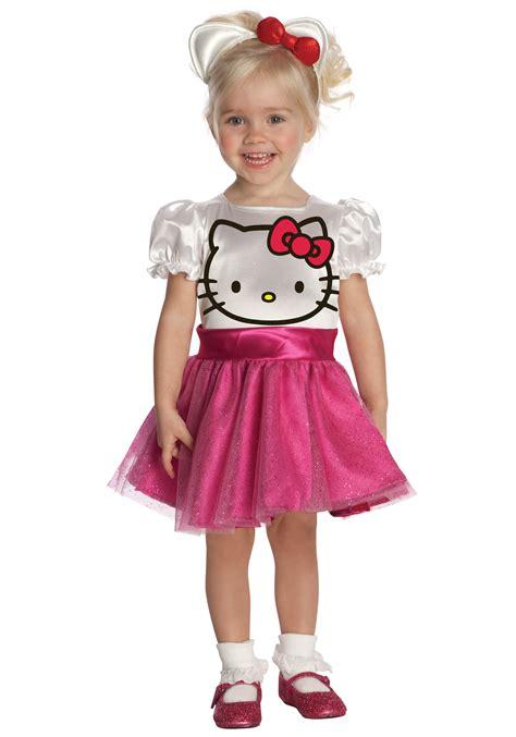 Hello Kitty Toddler Halloween Costume | toddler hello kitty costume