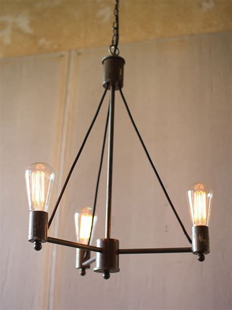 Pendant Lighting Edison Edison Tri Pod Pendant Light Modern Furniture Brickell Collection