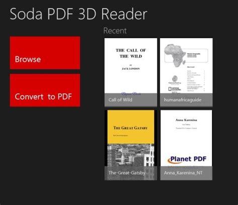 best pdf reader best pdf reader for windows 8 soda pdf 3d reader