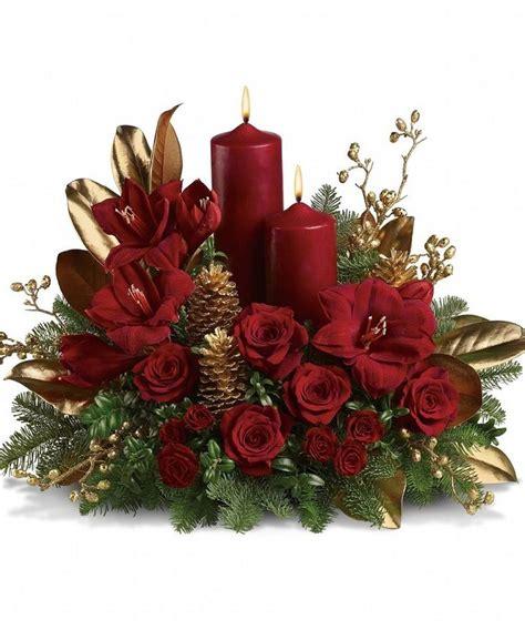 composizioni di natale con candele oltre 25 idee originali per fiori natalizi su