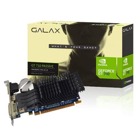 Galax Gt 730 1gb Ddr5 64 Bit galax geforce gt 710 passive 1gb placas de v 205 deo