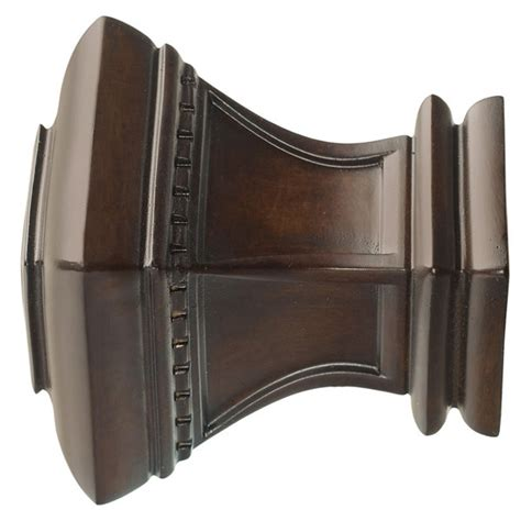 kirsch curtain hardware wood trends classics 2 quot bristol finial williams drapery kirsch hardware and wooden curtain rods