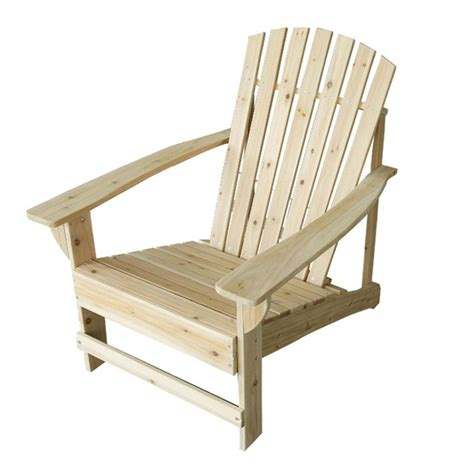 Unfinished Patio Adirondack Chair 11061 1 The Home Depot Unfinished Adirondack Patio Chair
