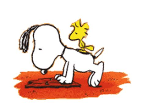 snoopy  push ups images  messages