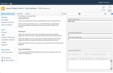 Add Lookup Refining Search For Sharepoint 2010 Collab365 Community