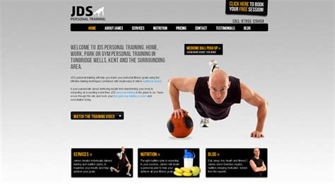 Weight Training Program Lose Body Fat Personal Trainer Websites Templates Goodlife Fitness Fitness Trainer Website Templates