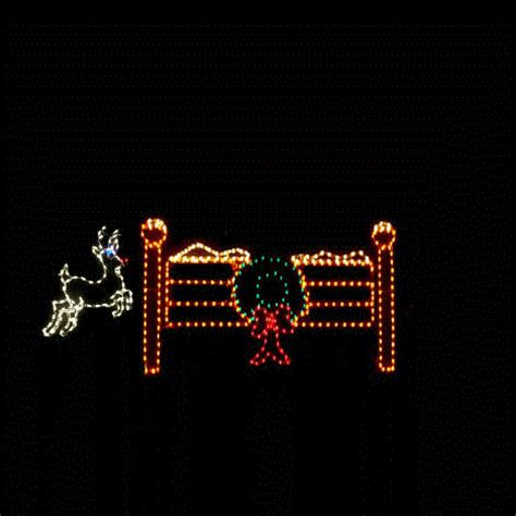 jumping reindeer lights pictures photos and images for