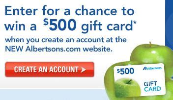 Albertsons Amazon Gift Card - win 500 albertsons gift card fabulessly frugal
