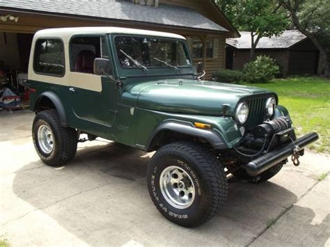 1979 Jeep Renegade For Sale Sell Used 1979 Jeep Cj7 Renegade Sport Utility 2 Door 5 0l