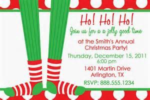 sock exchange christmas party invitation elf holiday invite
