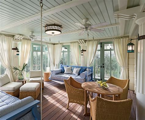 Scandinavian Homes Interiors by 25 Cheerful And Relaxing Beach Style Sunrooms