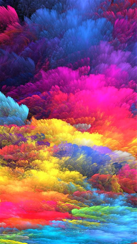 color explosion apple iphone  hd wallpapers