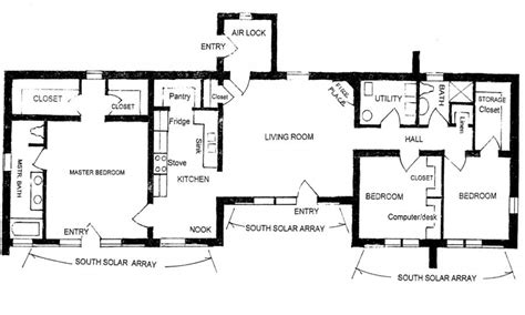 Pueblo Style House Plans | pueblo style house plans adobe house floor plan house