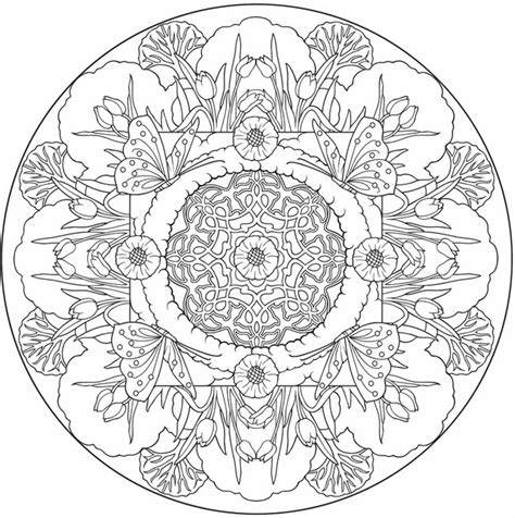 nature mandala coloring books butterfly mandala to color from nature mandalas coloring