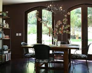 dining room accent wall brown accent wall for dining room decorating ideas