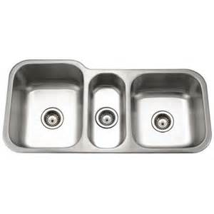 houzer medallion gourmet undermount stainless steel 40 in bowl kitchen sink mgt 4120 1