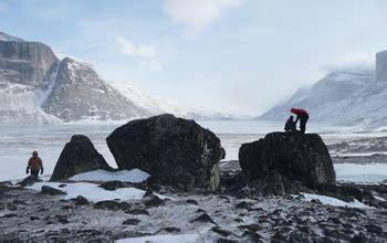 multimedia gallery studying glacier activity  baffin