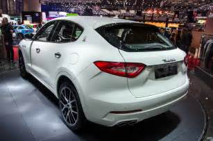 Maserati Annual Sales 2017 Maserati Levante Is The Italian Brand S Suv