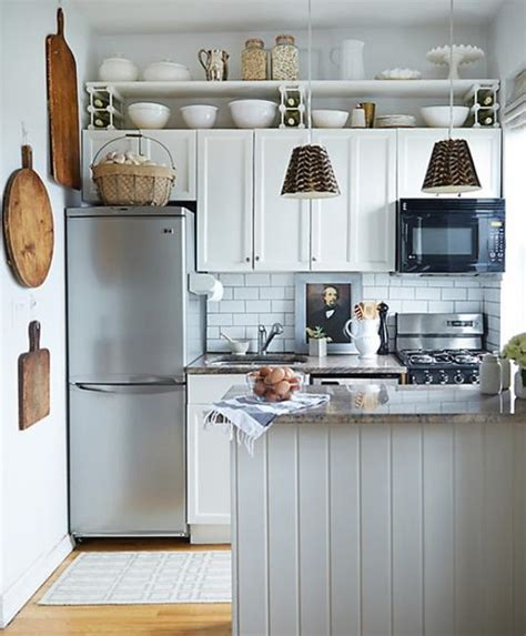 25 space saving small kitchens and color design ideas for