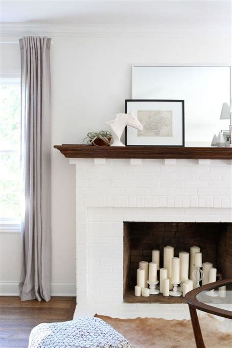 white brick fireplace white brick fireplace simple styling family living