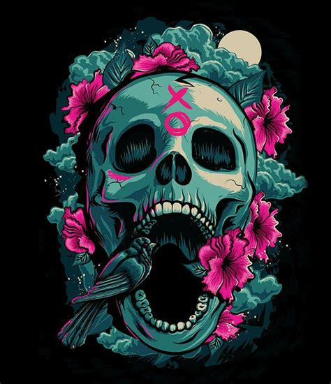 wallpaper skull flower awesome skull backgrounds 43 wallpapers adorable