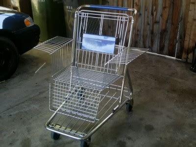 Shopping Chair by Shopping Cart A La Carte 21 Ways To Reuse Shopping Carts
