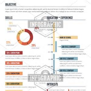 infographic resume template stand out