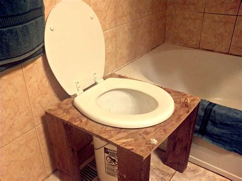 toilet plumbing diy how to make your own diy composting toilet farming my backyard