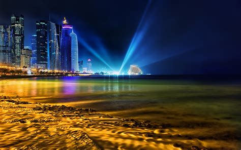 wallpaper design qatar luces en doha qatar wallpaper 2880x1800 id 879