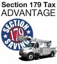 section 179 assets buy sell used bucket trucks crane boom sign trucks