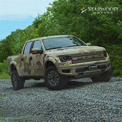 starwood motors ford raptor starwood motors on twitter quot camouflage kevlar finished